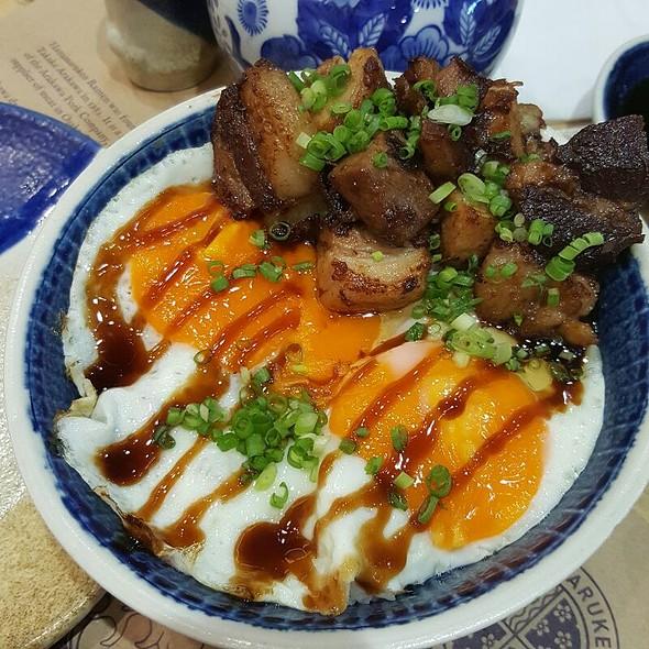 Pork Belly Rice Bowl @ Hanamaruken