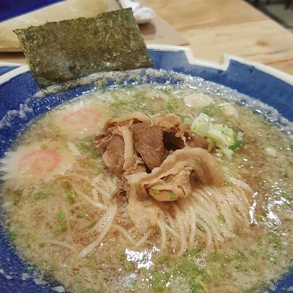 Pork Shoulder Shoyu Ramen @ Hanamaruken
