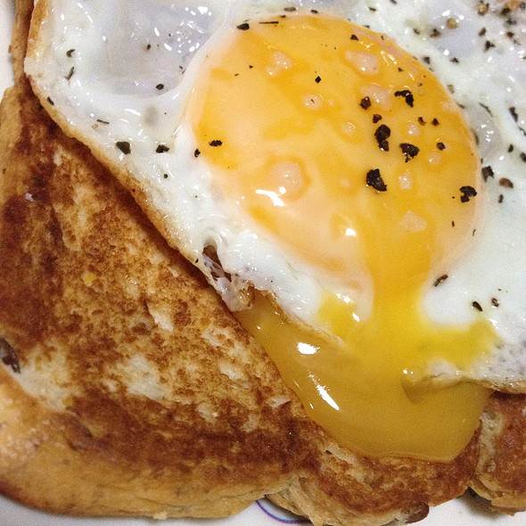 Egg Porn On Toast