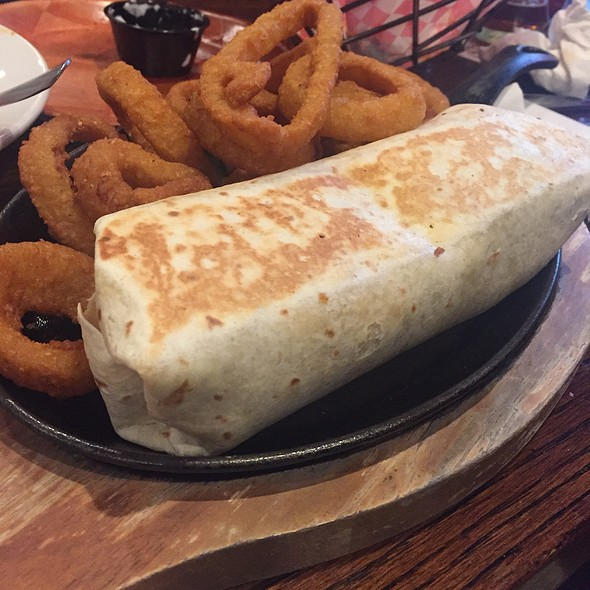 Beef Brisket Burrito  @ Long Island Pour House