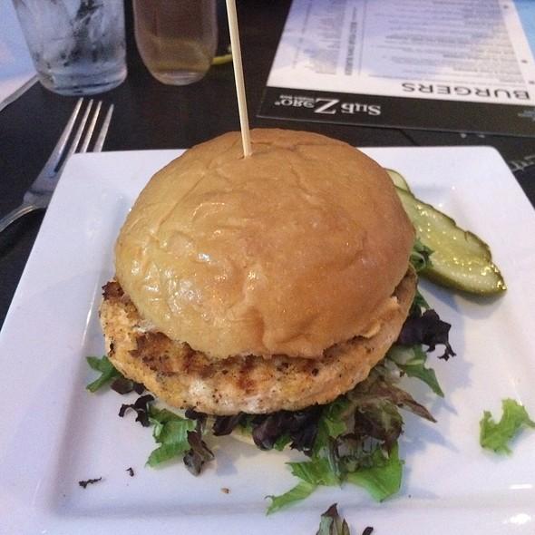 Pacific Salmon Burger - Sub Zero Vodka Bar, St. Louis, MO
