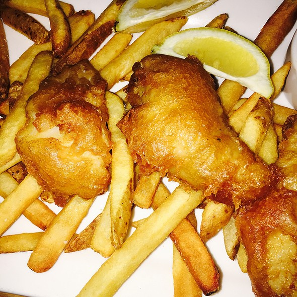 Fish and Chips - Kells Irish Restaurant & Pub, Portland, OR