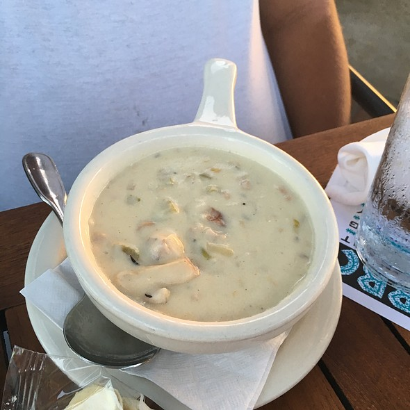 New England Clam Chowder - Belmont Brewing Company, Long Beach, CA