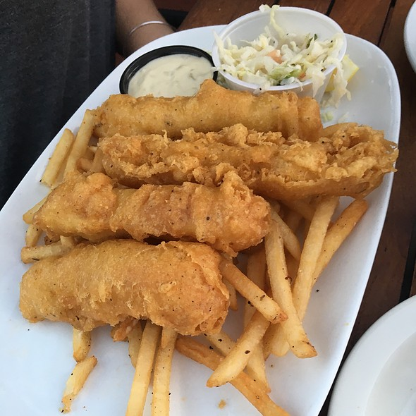 Fish and Chips - Belmont Brewing Company, Long Beach, CA