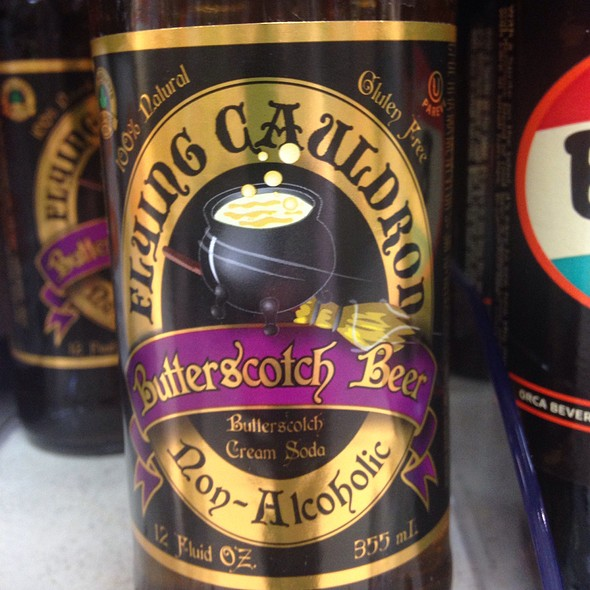 Flying Cauldron Non-Alcoholic Butterscotch Beer @ Baesler's Market