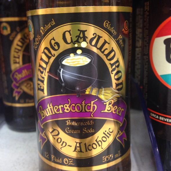 Flying Cauldron Non-Alcoholic Butterscotch Beer @ Baesler's Market
