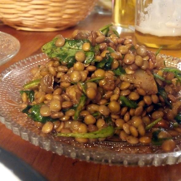 Lentil Salad @ La Hummuseria