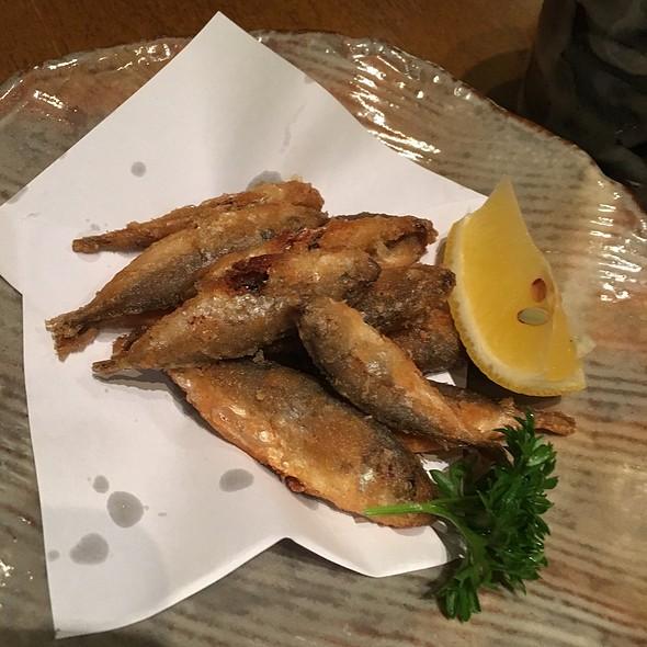 Deep Fried Baby Horse Mackerel  @ Rakuzen Japanese Restaurant @ Empire Gallery