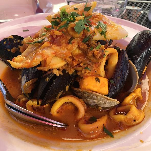 Mediterranean Seafood Stew - Bistro La Source, Jersey City, NJ
