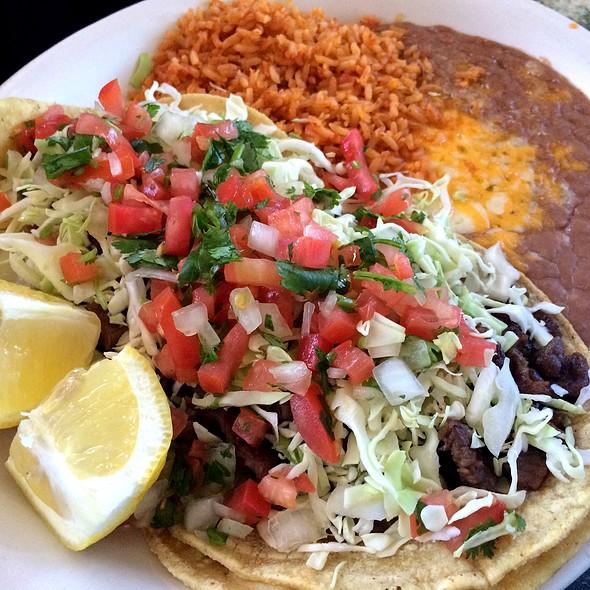 Carne Asada Tacos @ Garcia's