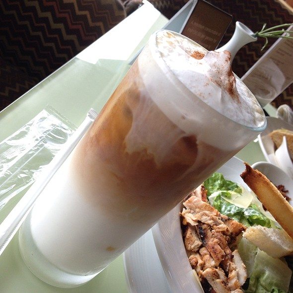 Iced Cappuccino @ Taal Vista Hotel