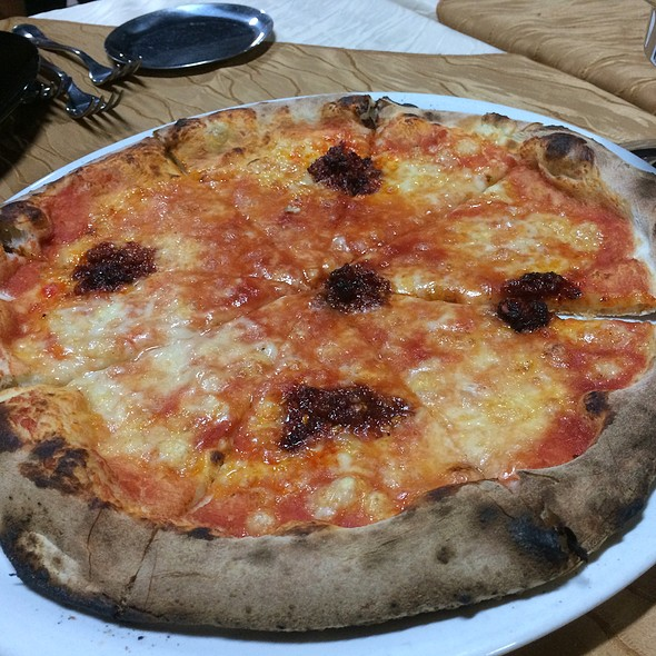 Pizza With Nduja @ Anema E Core