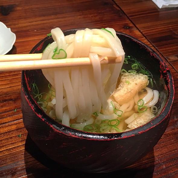 Udon Noodles @ Sushi Izakaya Shinn
