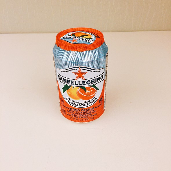 Blood Orange Pellegrino @ Zia's Delicatessen