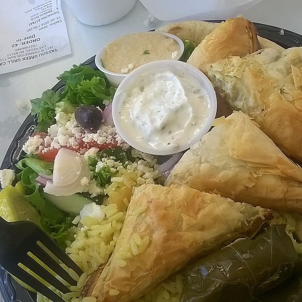 Spanakopita @ Yassou Greek Grill Cafe