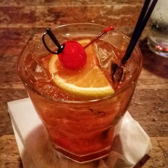 Brandy Old Fashioned Sweet @ The Old Fashioned
