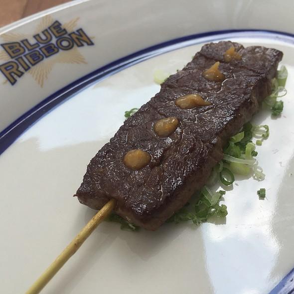 Shortrib Skewer @ Blue Ribbon Sushi Izakaya
