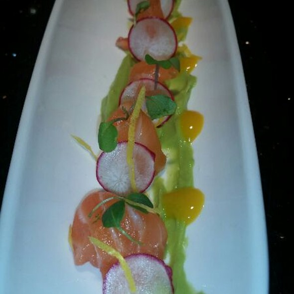 Citrus cured salmon - GG's Waterfront Bar & Grill, Hollywood, FL