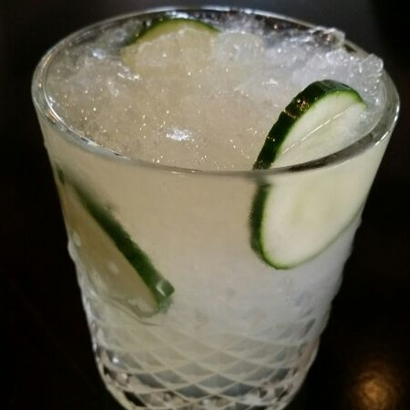 Cucumber Collins - GG's Waterfront Bar & Grill, Hollywood, FL