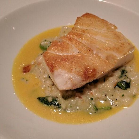 Sea bass @ The Ranch Restaurant & Saloon