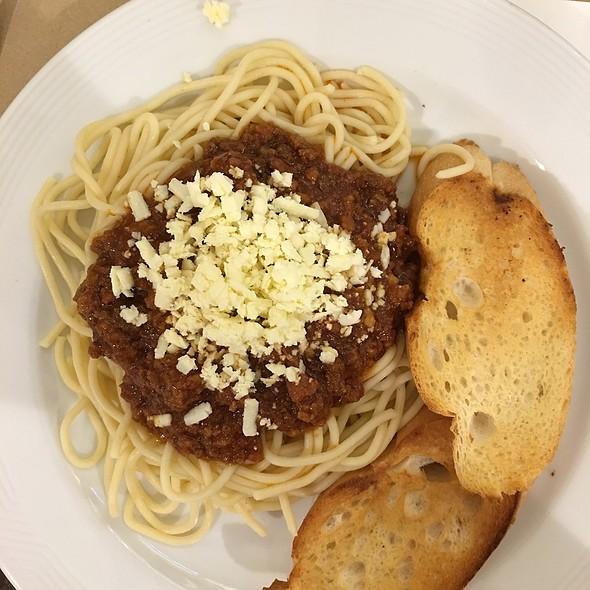 Spaghetti @ Pancake House