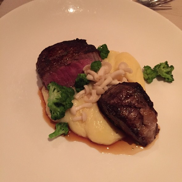 Filet Of Beef @ Elements At Primland