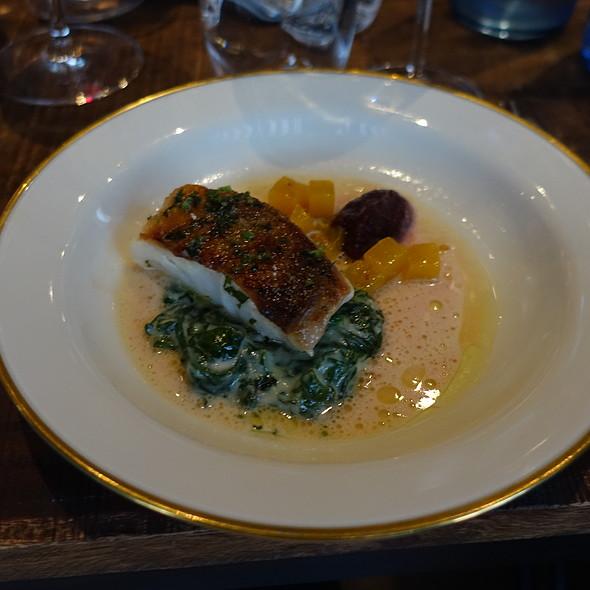 Redfish, Spinach, Beertoot @ Bread & Roses