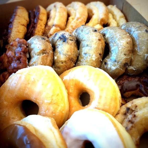 Assorted Donuts @ Yonuts