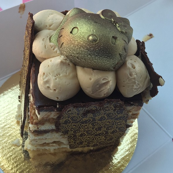 Chocolate Opera Cake @ Hello Kitty Cafe Pop-Up
