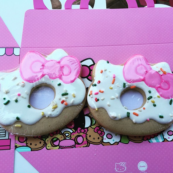 Sugar Cookies @ Hello Kitty Cafe Pop-Up