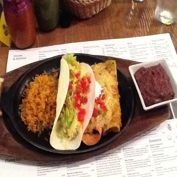 enchiladas @ Charley Brown's Tex-Mex Cantina