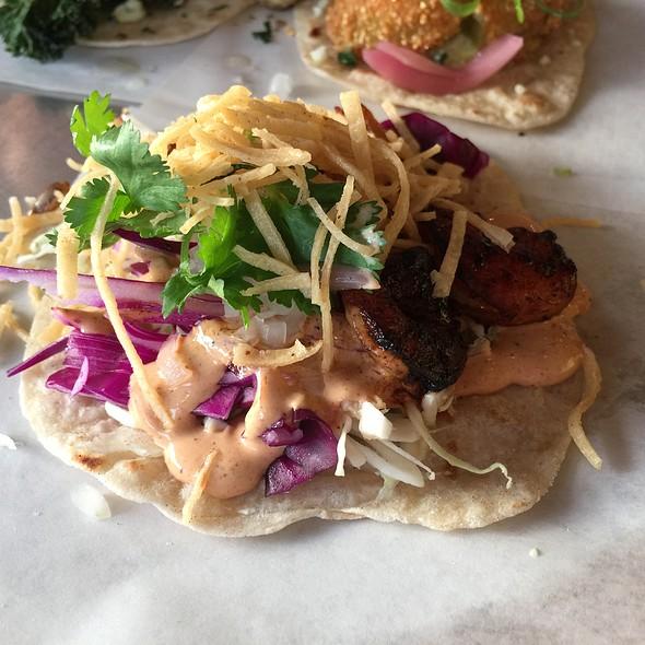 Baja Shrimp Taco @ Resident Taqueria