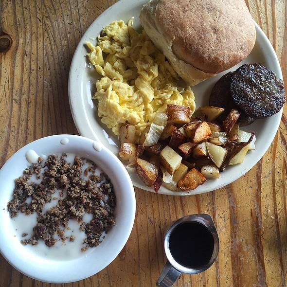 Breakfast Plate #1 @ Annie's Hamburgers