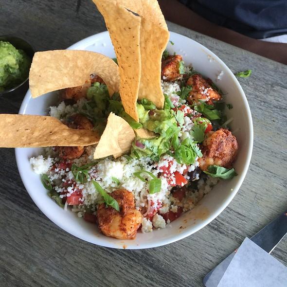 Baja Spicy Shrimp Bowl @ Mex 1 Coastal Cantina