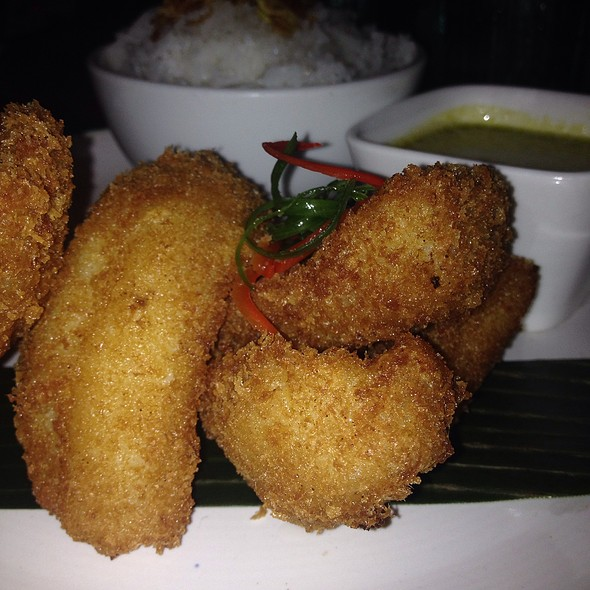 Fried Fish With Green Curry @ Pai Toronto