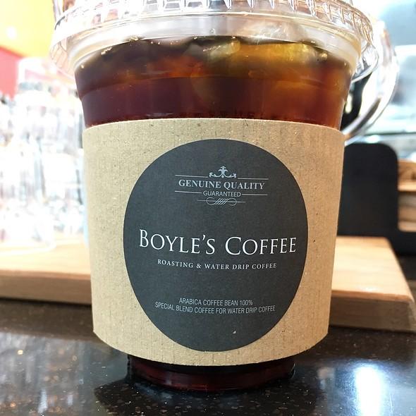 Iced Dutch Straight @ Boyle's Coffee (@ Bukit Timah Plaza)