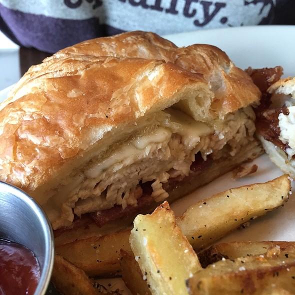 Turkey, Havarti And Honey On A Croissant - Southern Lights Bistro, Greensboro, NC