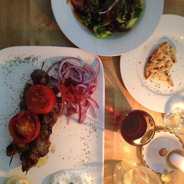 Lamb Kebab @ Kymata
