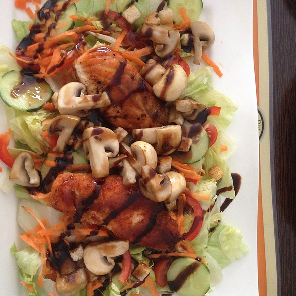 Salmon salad @ Goldoni