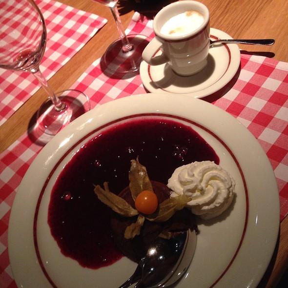 Lava Chocolate Cake @ Block House