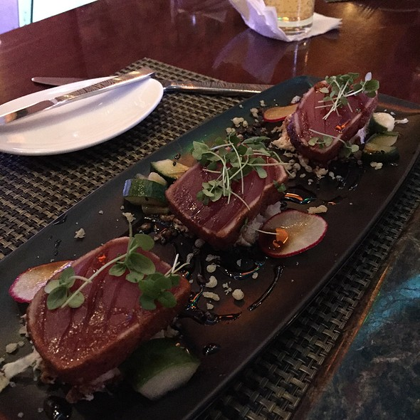 Seared Ahi @ Bimini Steakhouse