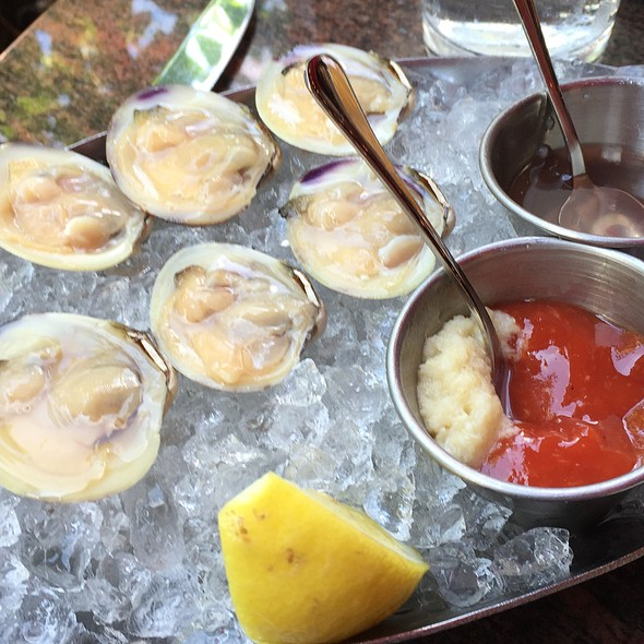Littleneck clams - Eastern Standard, Boston, MA