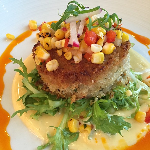crabcake - Island Creek Oyster Bar, Boston, MA