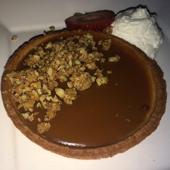 Salted Caramel Chocolate Tart @ Washington House