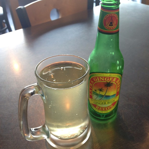 Ginger Beer @ Aung's Bangkok Cafe