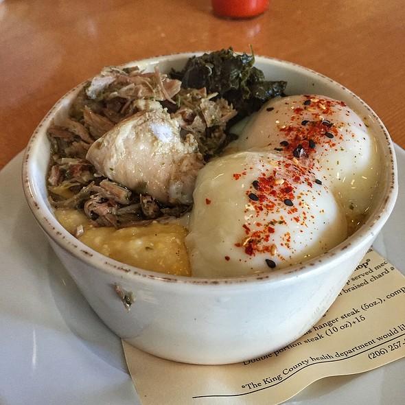Breakfast Bowl With Porchetta @ Porkchop And Company