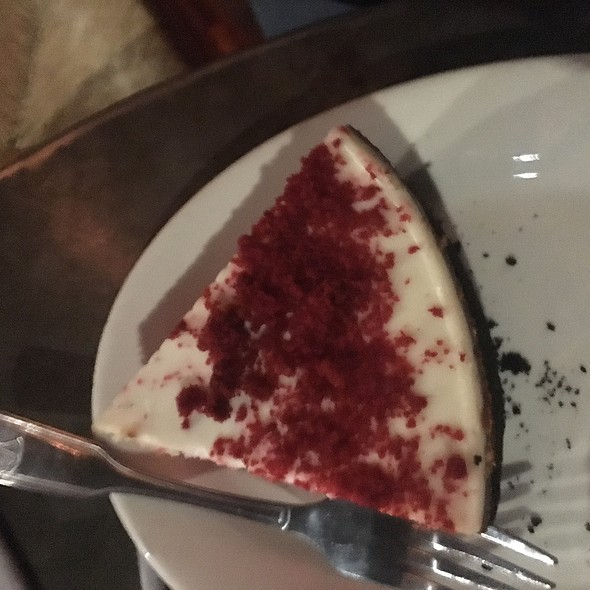Red Velvet Cheesecake @ Alcove Cafe & Bakery