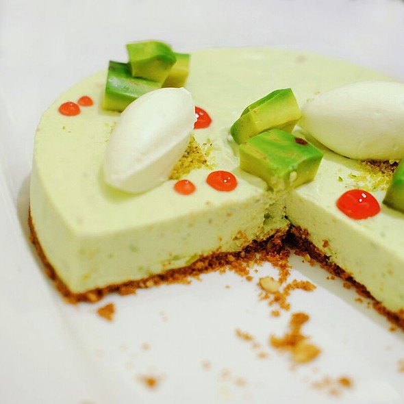 Avocado Lime Cheesecake  @ Quest Hotel and Conference Center - Cebu
