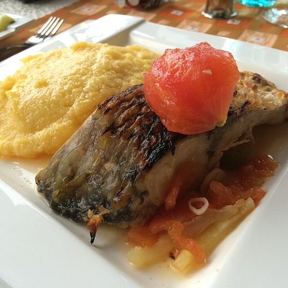 Carp In Brine With Polenta