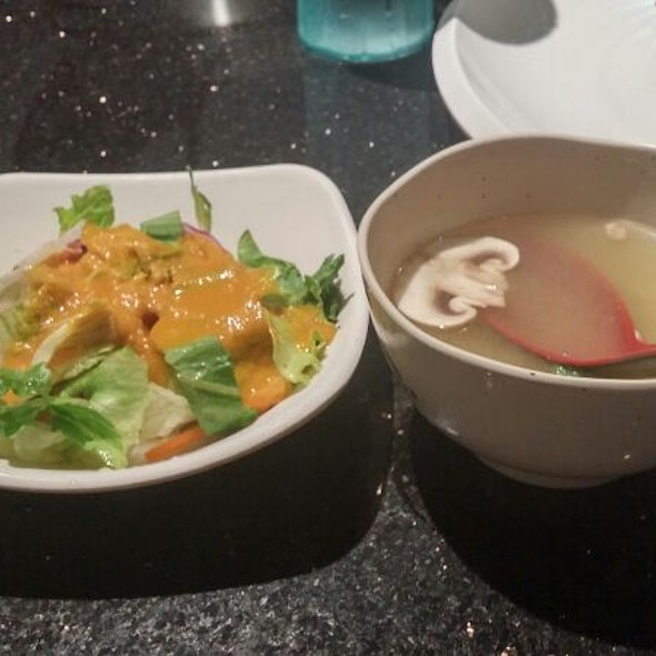 Soup & Salad @ Aomi Japanese Restaurant